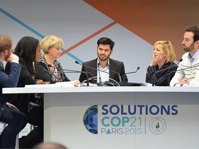 Présentateur TV et Modérateur de Conférences au Grand Palais à Paris